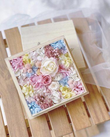 大切な日のギフトにお勧め 〜flower box〜