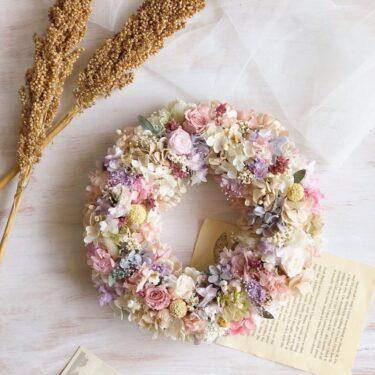 おうち時間に彩りを 〜gift wreath〜